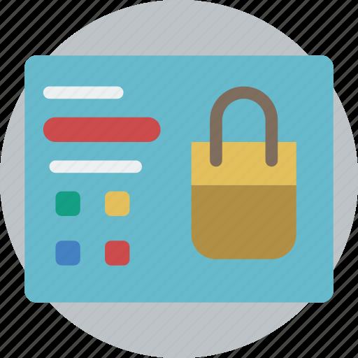 e commerce, e-commerce, ecommerce, page, product, shopping icon