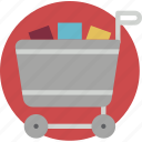cart, e commerce, e-commerce, ecommerce, shopping icon