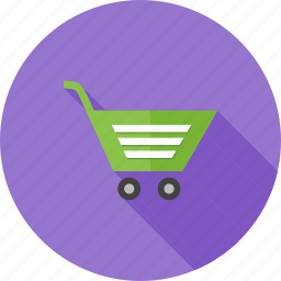 basket, business, carrier, cart, e-commerce, shop, trolley icon