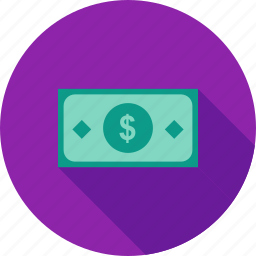 bank, bill, cash, currency, dollar, investment, money icon
