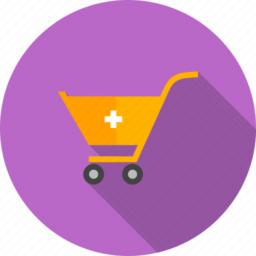 basket, cart, items, market, retail, shopping, trolley icon