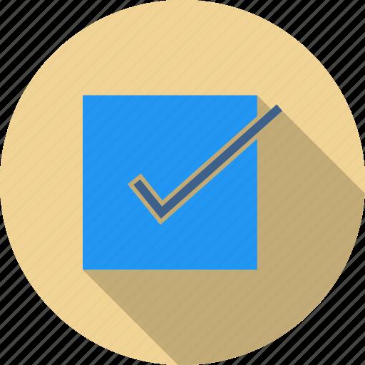 bill, check, checklist, document, order, receipt, tick mark icon