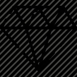 design, diamond, icon, ui, ux, web icon