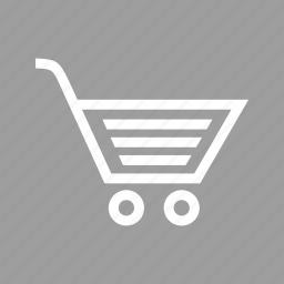 basket, business, carrier, cart, e-commerce, shop, trolley icon
