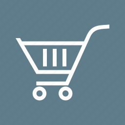 basket, carrier, cart, market, shop, spend, trolley icon