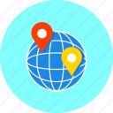 address, contact, country, internet, location, map, point icon