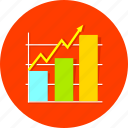 analytics, business, diagram, financial, graph, report, statistics icon