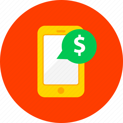 business, ecommerce, financial, marketing, mobile, payment, phone icon