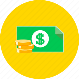 bank, cash, coin, dollar, finance, money, payment icon