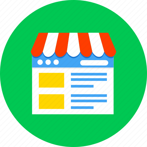 business, ecommerce, finance, internet, online, shopping, store icon