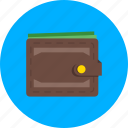 business, cash, ecommerce, financial, money, purse, wallet icon
