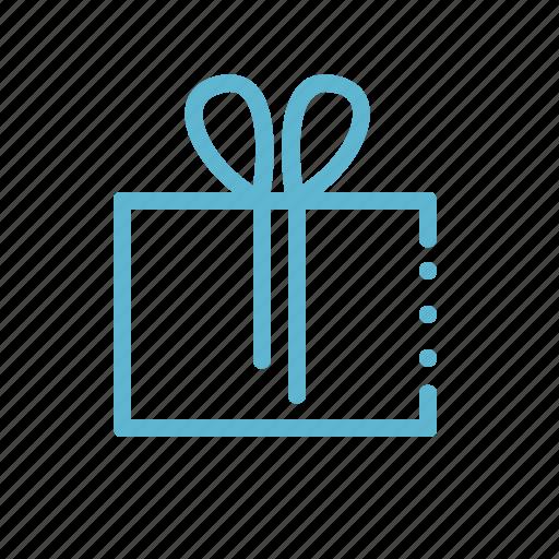 birthday, box, gift, present, shopping, souvenir icon