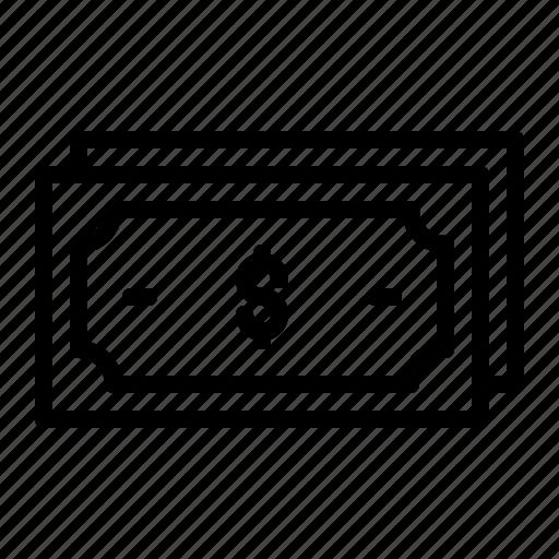 cash, dollar, money, payment, transaction icon