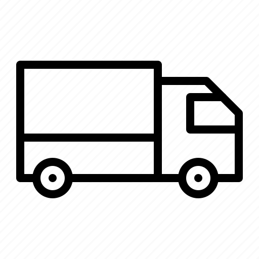 ecommerce, logistics, shipping, truck, vehicle icon