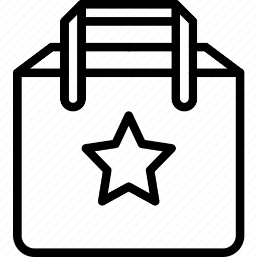 bag, e commerce, e-commerce, ecommerce, favourite icon
