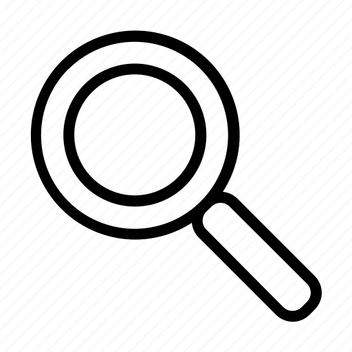 Find, magnifying, search, glass, magnifier, seo, zoom icon - Download on Iconfinder