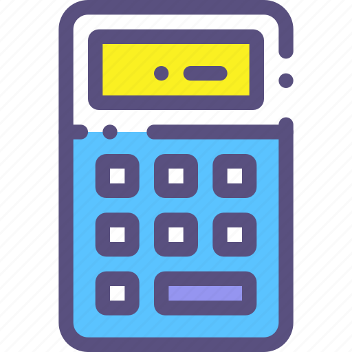account, calculator, figure, sum icon