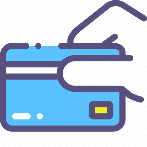 card, credit, receive icon