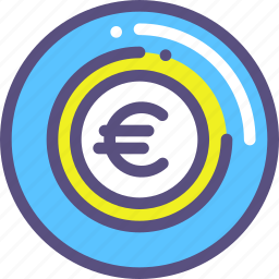 currency, euripean, euro icon