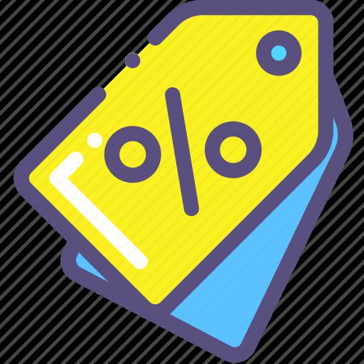 label, percent, price, sale icon