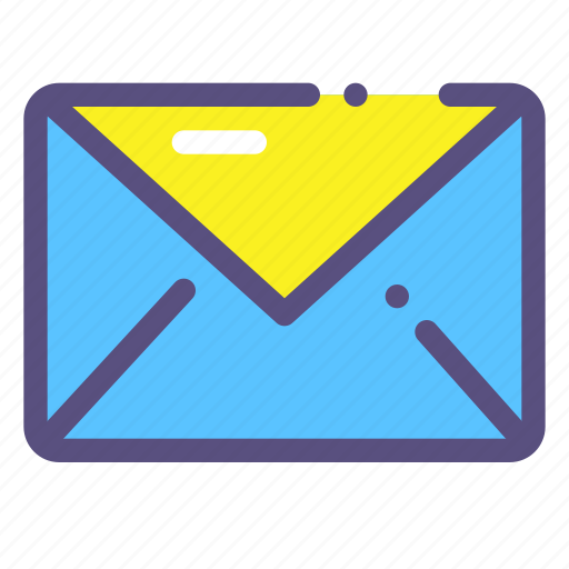 delivery, letter, mail, word icon