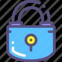 close, key, lock, protection