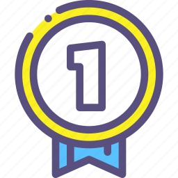 award, first, gold, medal, place, victory icon