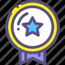 award, favorites, medal, reward icon