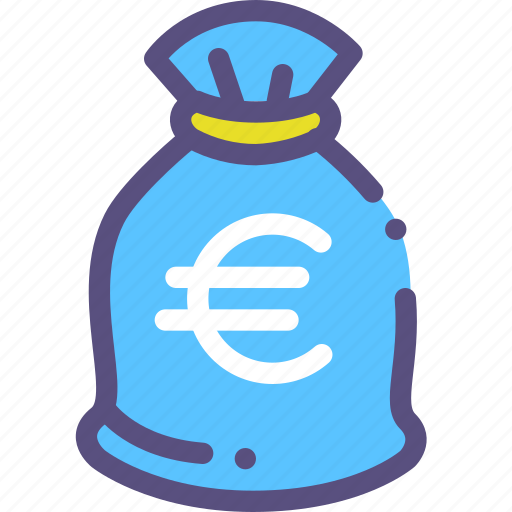 bag, currency, euro, european, money icon
