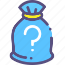 bag, currency, money, unknown icon