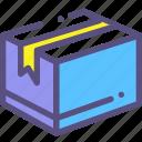 box, mail, parcel
