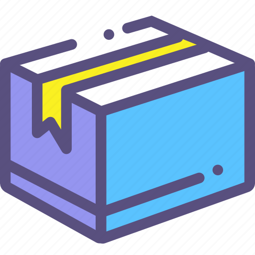 box, mail, parcel icon
