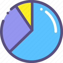 chart, diagramm, pie icon