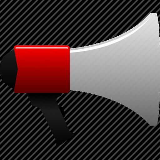 advertisement, announce, announcement, business, commercial, megaphone, retail icon