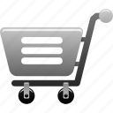 business, cart, commercial, internet, purchase, retail, shopping icon
