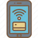 contactless, e commerce, e-commerce, ecommerce, shopping icon