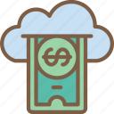 cloud, e commerce, e-commerce, ecommerce, payment, shopping icon