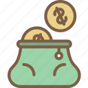 bag, e commerce, e-commerce, ecommerce, money, shopping icon