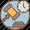 auction, e commerce, e-commerce, ecommerce, shopping, timed icon