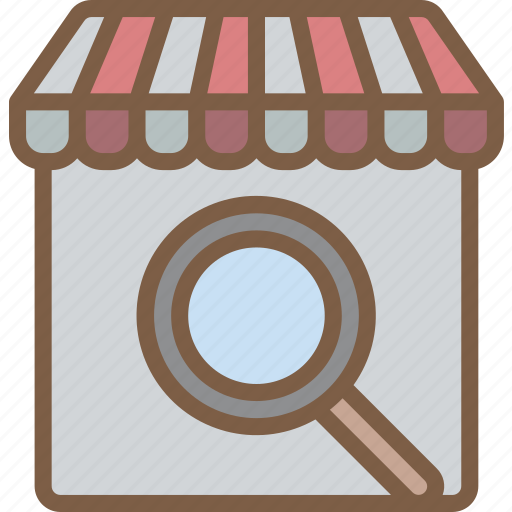 e commerce, e-commerce, ecommerce, search, shop, shopping icon