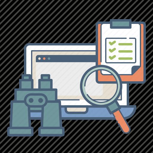 analysis, content, management, seo, web, writing icon