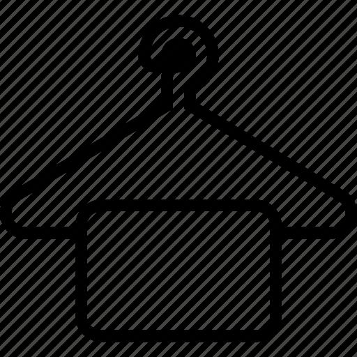 Cloth, hanger, cloth hanger, hanger cloth icon