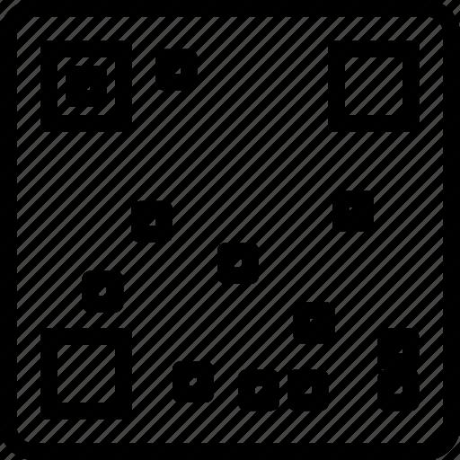 ar code, code, code qr, qr icon