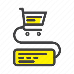 cart, ecommerce, online, shop, shopping, till, webshop icon