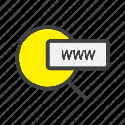 address, ecommerce, online, shop, shopping, weblink, webshop icon