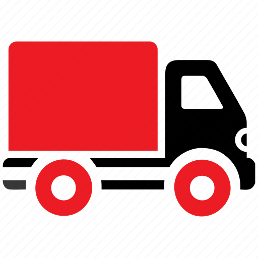 automobile, delivery, delivery van, shipping truck, transportation, truck, vehicle icon