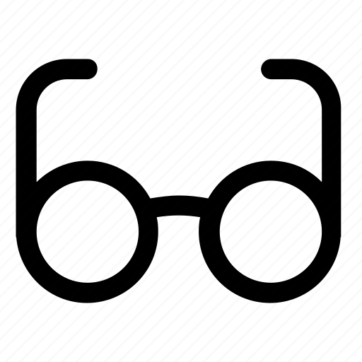 glasses, read, see, vision icon