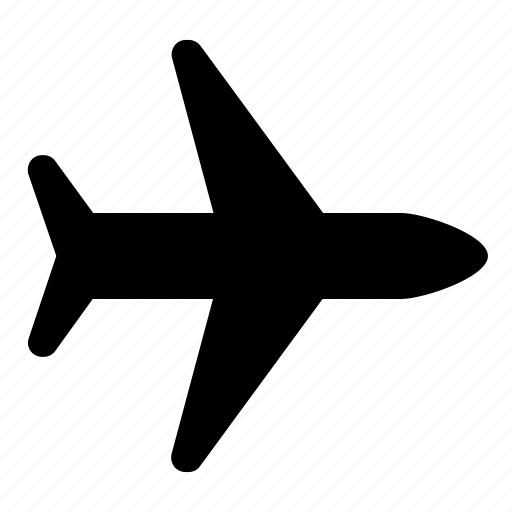 aeroplane, delivery, international, jet, plane, shipping icon