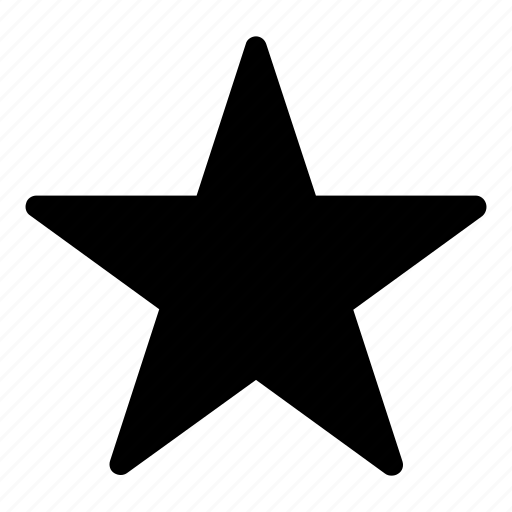 favourite, star, wishlist icon