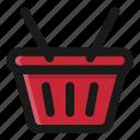 basket, commerce, e, shop, shopping